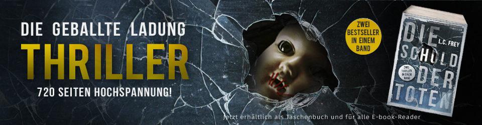 Krimiautor Alex Pohl | Thriller-Bestsellerautor L.C. Frey